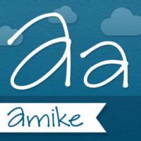 Amike handwriting font