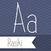 Raski font