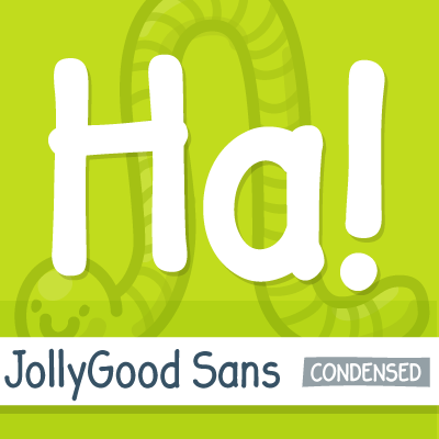 JollyGood Sans Condensed sample